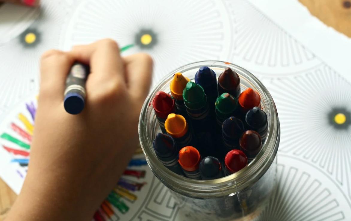 děti a kreslení