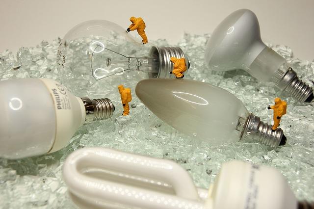 recyklace žárovek